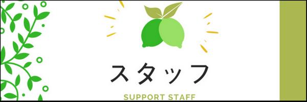 スタッフ(Support Staff)